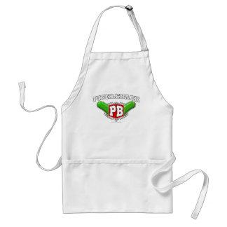 Pickleback logotyp förkläden