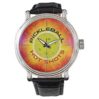 Pickleball hoade Shots 1 klocka & siffer-
