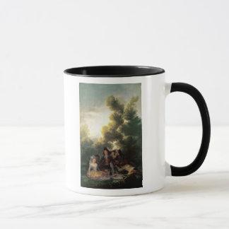Picknicken, 1785-90 mugg
