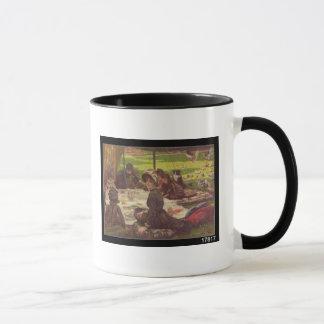 Picknicken, c.1881-2 mugg