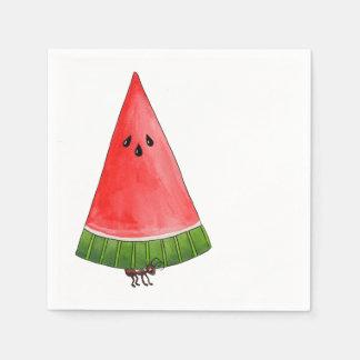 Picknickvattenmelon Servett
