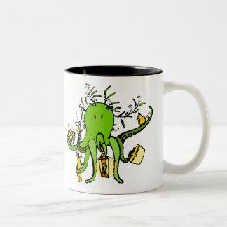 Picnoctopus Två-Tonad Mugg