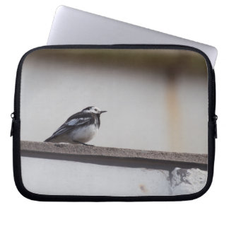 Pied Wagtail Laptop Sleeve