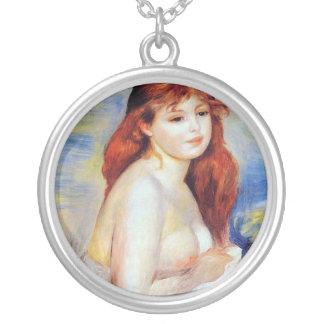 Pierre Auguste Renoir - badare Silverpläterat Halsband