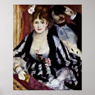 Pierre-Auguste Renoir - logen Poster