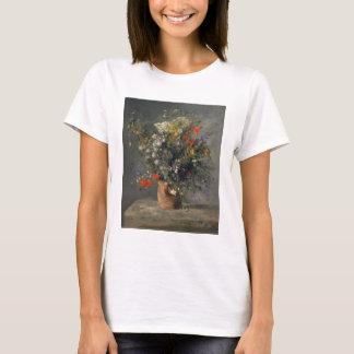 Pierre Auguste Renoir målning, blommor i en vas T Shirts