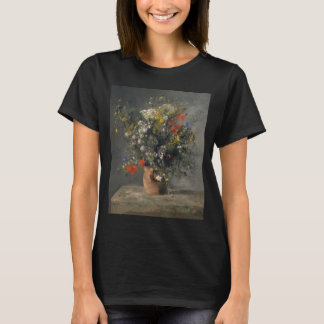 Pierre Auguste Renoir målning, blommor i en vas Tröjor