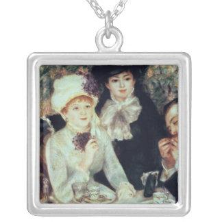 Pierre en Renoir | avsluta av luncheonen Silverpläterat Halsband