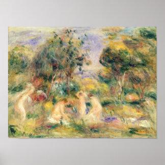 Pierre en Renoir   badarna Poster