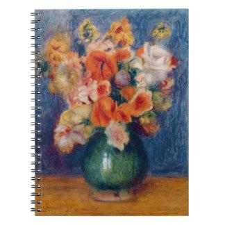 Pierre en Renoir | bukett Anteckningsbok