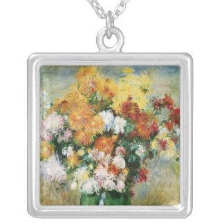 Pierre en Renoir | bukett av Chrysanthemums Silverpläterat Halsband