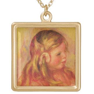 Pierre en Renoir | Claude Renoir Guldpläterat Halsband