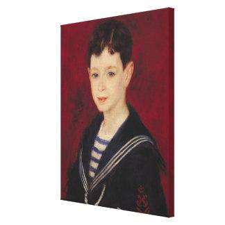 Pierre ett Renoir   porträtt av Fernand Halphen Canvastryck