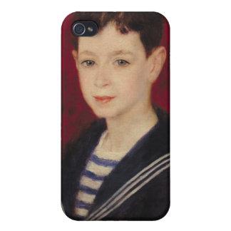 Pierre ett Renoir   porträtt av Fernand Halphen iPhone 4 Hud