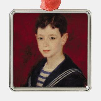 Pierre ett Renoir   porträtt av Fernand Halphen Julgransprydnad Metall