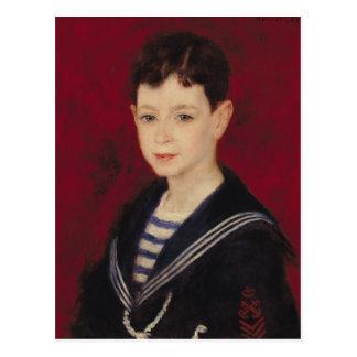 Pierre ett Renoir   porträtt av Fernand Halphen Vykort
