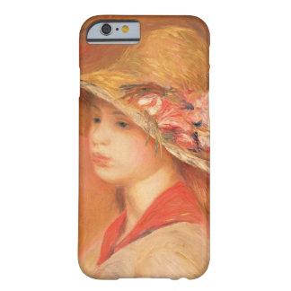 Pierre Renoir | en ung kvinna i en hatt Barely There iPhone 6 Fodral
