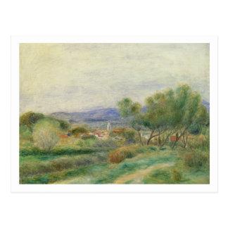 Pierre som en Renoir | beskådar av La Seyne, Vykort