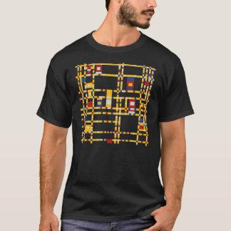Piet Mondrian - Broadway BoogieWoogie modern konst T-shirts