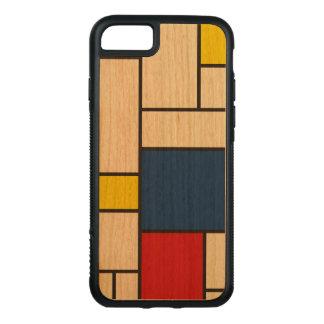Piet Mondrian Minimalist De Stijl modern konst Carved iPhone 7 Skal