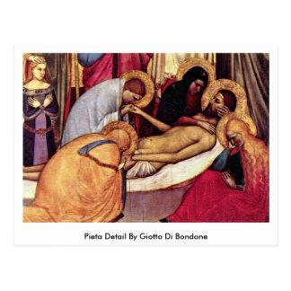 Pietaen specificerar vid Giotto Di Bondone Vykort