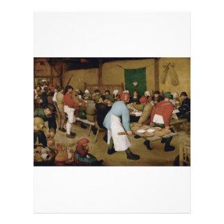 Pieter Bruegel fläderen - bondaktigt bröllop Reklamblad