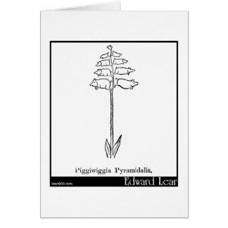 Piggiwiggia Pyramidalis. Hälsningskort