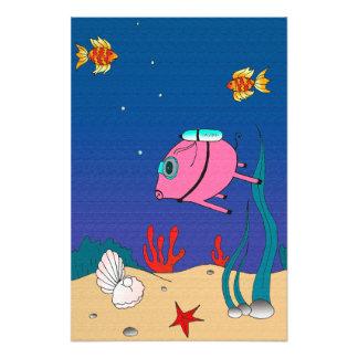 PiGgy dykare! Fototryck