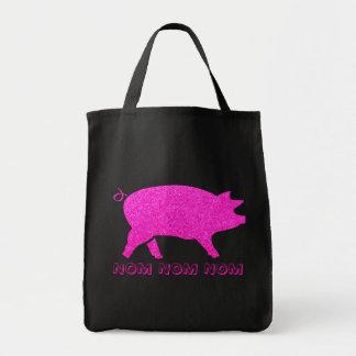 Piggy NOM NOM NOM Tygkasse