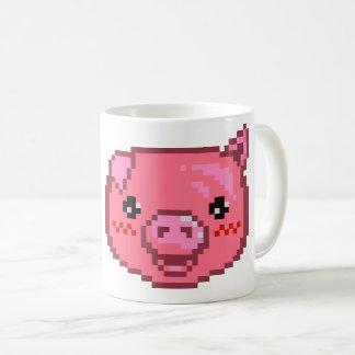 Piggy PIXEL-Konst Kaffemugg