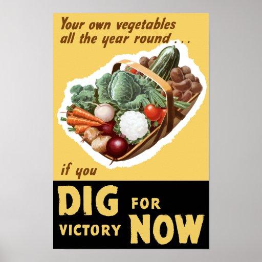 Pik för seger nu -- WWII Affischer