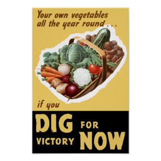 Pik för seger nu -- WWII Poster