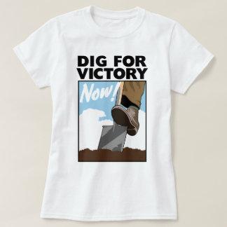 Piken för krig för seger WWII växer din egna T Shirts