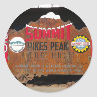 Pikes maximala toppmöte, Colorado Runt Klistermärke
