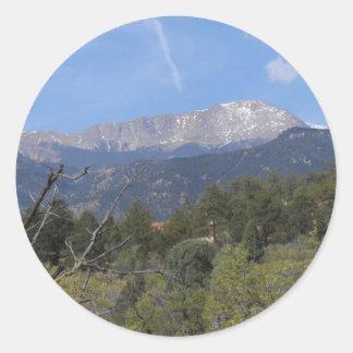 Pikesmaximum Colorado Springs Runt Klistermärke