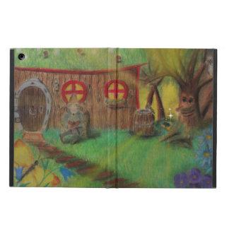 Pil älvan. Förtrollad skog Fodral För iPad Air