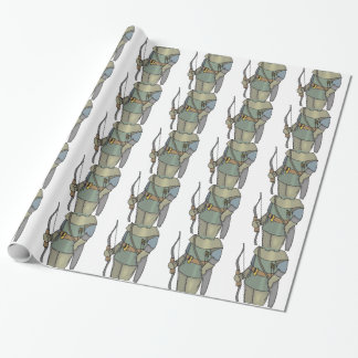 Pil för pilbåge för fantasibågskyttman presentpapper