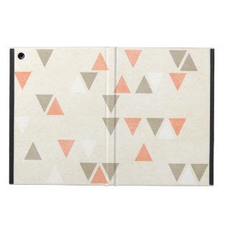 Pilar för abstrakt för grått för för modtriangelko fodral för iPad air