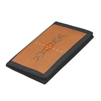Pilbågar och trifold pilplånbok