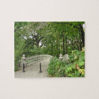 Pilbågen överbryggar Central Park Pussel