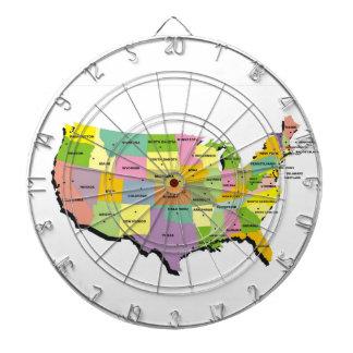 pilen för den United States Amerika landkartan sti Piltavla