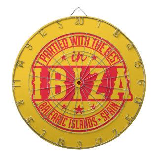 Pilen för IBIZA Spanien stiger ombord Piltavla