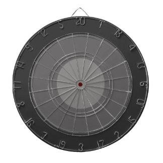 Pilen stiger ombord - koncentriska ringar piltavla