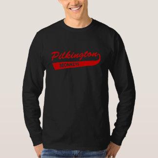 Pilkington härmar den röda Lång-muff Tee