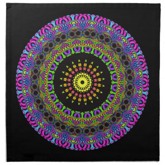 PilMandala - neon 2 Tygservett