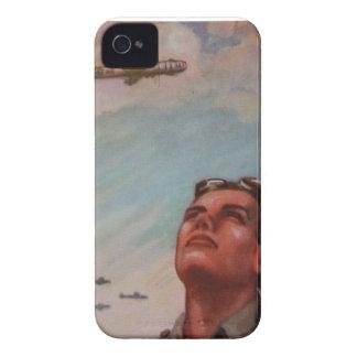 Pilot- blackberry boldFodral-Kompis för vintage iPhone 4 Case-Mate Skydd