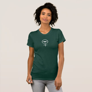 Pilot- DJI fantom för kvinnligt surr T-shirts