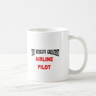 Pilot- flygbolag kaffemugg