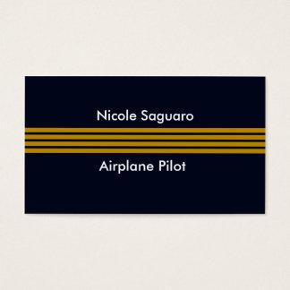 Pilot- instruktör för flygplan visitkort