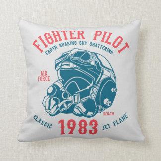 Pilot- klassikerjet för kämpe kudde